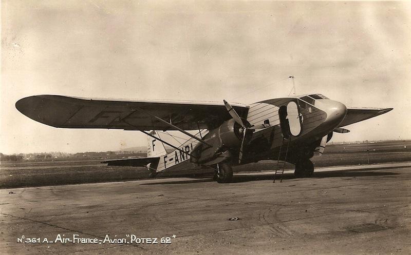vol air france paris marseille en 1937 passion pour l 39 aviation. Black Bedroom Furniture Sets. Home Design Ideas